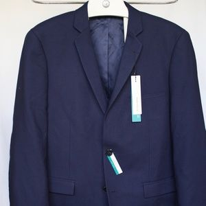 PERRY ELLIS Sport Coat Blazer ~ Elbow Patch 40R